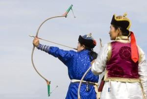 Naadam archery
